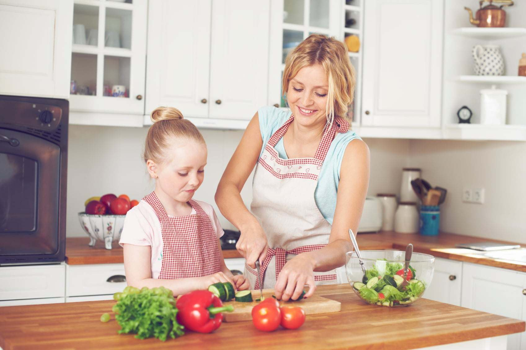 Let your Children Help in the Kitchen