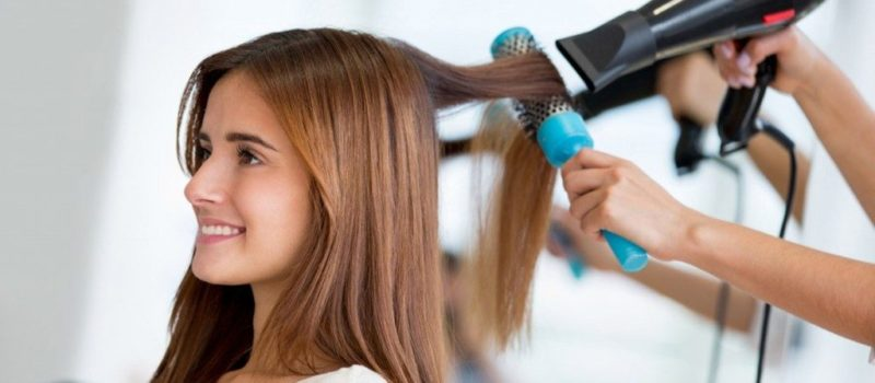 How to Blow Dry Thick Hair Fast
