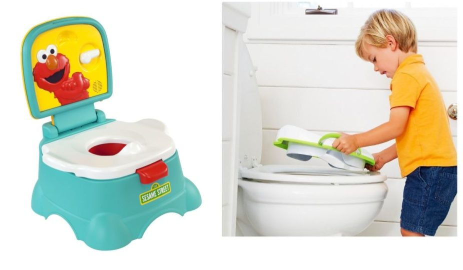 Potty Chair vs. Potty Seat Put on Toilet Seat