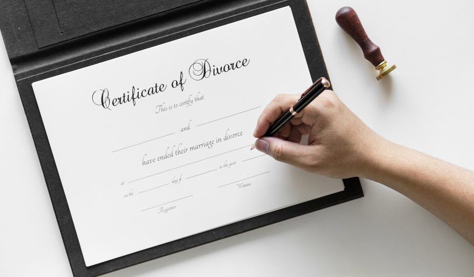 Steps Women go through in the Divorce Process