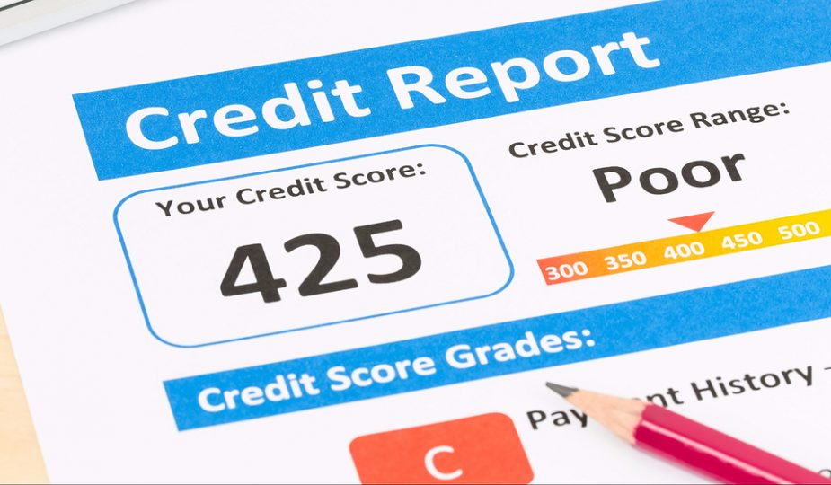 how to get credit with bad credit history