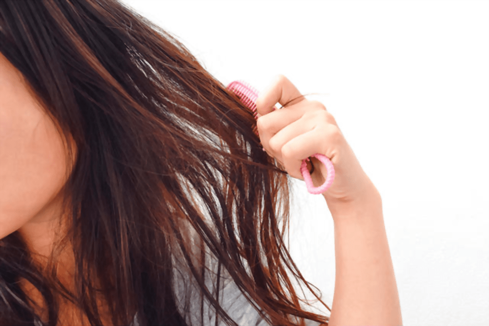 Excessive combing is one of the leading causes of split ends
