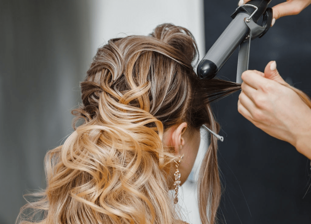 learn How to Curl Dry Hair