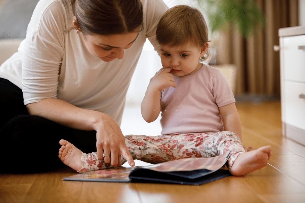 talk to your toddler to  Encourage your Toddler to speak