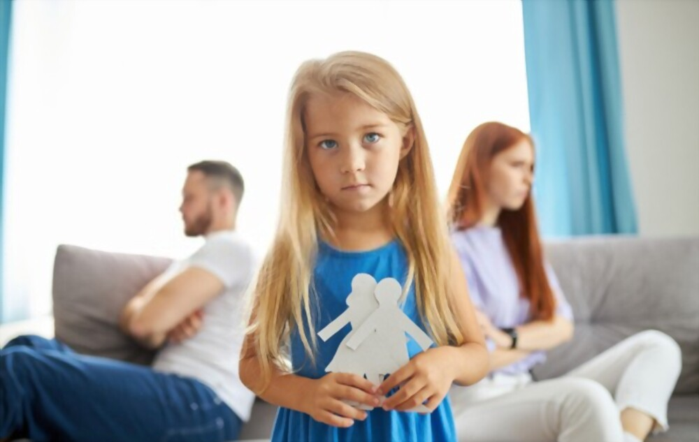 Can a child get PTSD from divorce